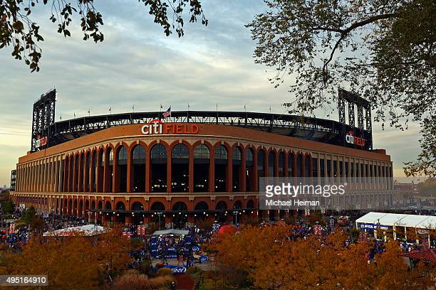 General view as Citi Field is seen prior to Game Four of the 2015 World Series between the New York Mets and the Kansas City Royals on October 31...