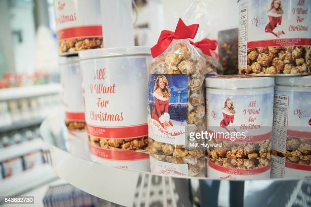 General view as global icon Mariah Carey announces Mariah Carey Christmas Factory During The Grand Opening Of Sugar Factory American Brasserie on...