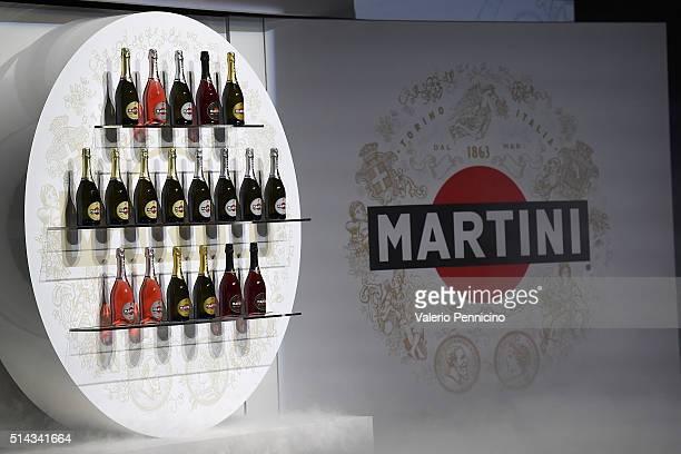 A general view as MARTINI kicks off the 2016 race season with Felipe Massa and Valteri Bottas FW38 car revealed alongside rare MARTINI Racing car...