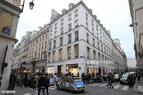 A general view as Nicole Lambert author of 'Les Triples' signs her two new albums at Colette on December 12 2015 in Paris France