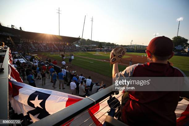 A general view as the Pittsburgh Pirates play the St Louis Cardinals in the inaugural MLB Little League Classic at BBT Ballpark at Historic Bowman...