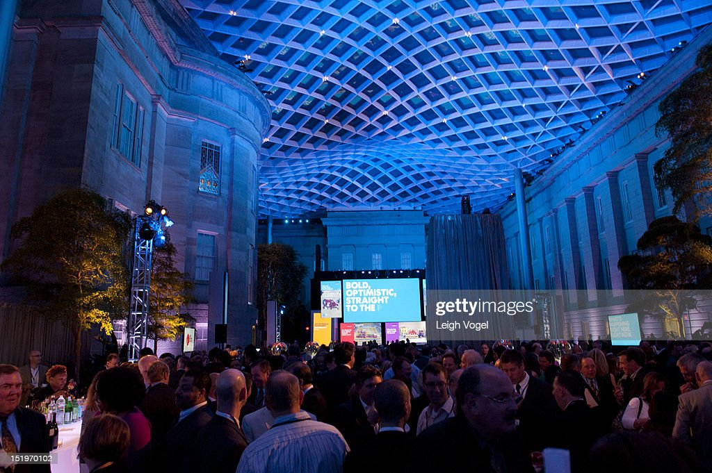 General view as USA TODAY unveils new look as it celebrates the next 30 years at National Portrait Gallery on September 13, 2012 in Washington, DC.