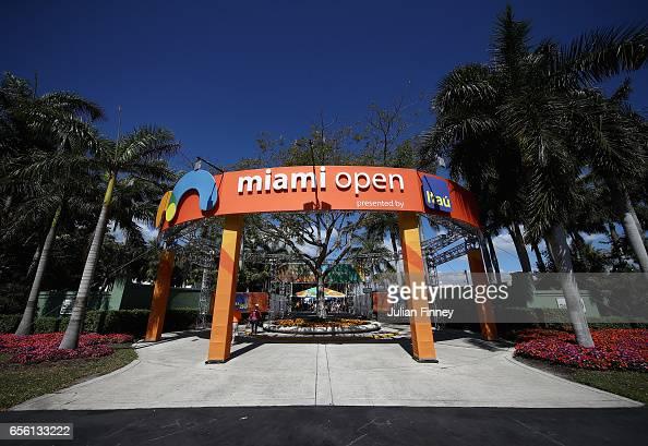 2017 Miami Open - Day 2 : News Photo