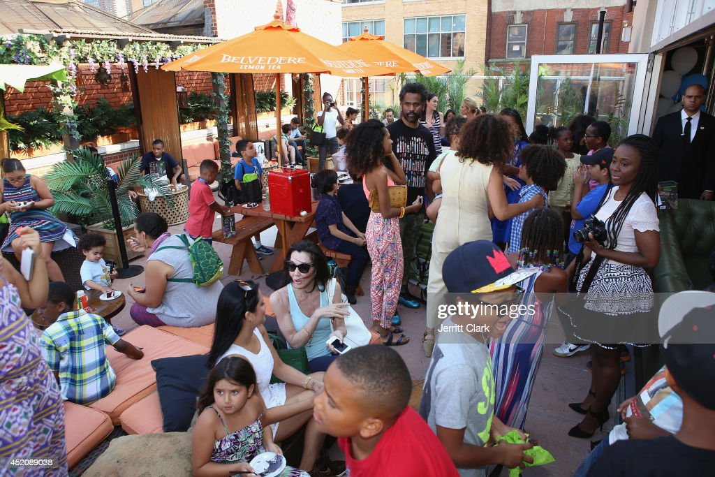 General view at DJ Fulano's 11th birthday party at Rooftop 48 on July 12, 2014 in New York City.