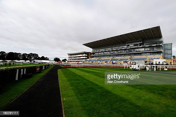 A general view at Doncaster racecourse on September 11 2013 in Doncaster England