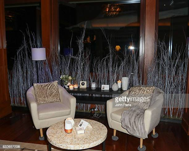 A general view at GOOGLE HOME Super Crispy Films celebrate 'Sidney Hall' at the home of Barry Amy Baker on January 24 2017 in Park City Utah
