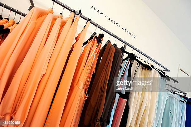 A general view at Juan Carlos Obando and his exclusive eveningwear collection hosted by Barneys New York at Barneys New York Beverly Hills on January...