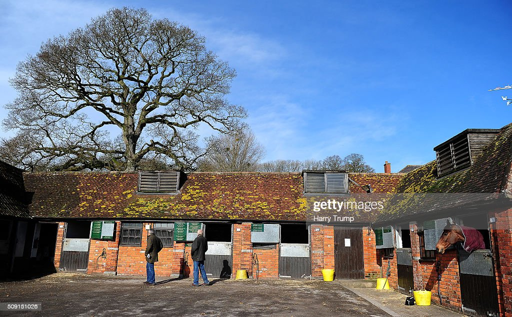 General view at Manor Farm Stables on February 9, 2016 in Ditcheat, England.