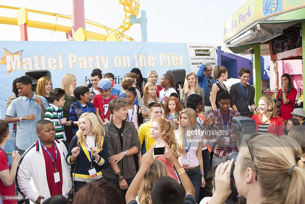 A general view at Mattel Party On The Pier Benefiting Mattel Children's Hospital UCLA - Inside at Pacific Park at Santa Monica Pier on October 21, 2012 in Santa Monica, California.