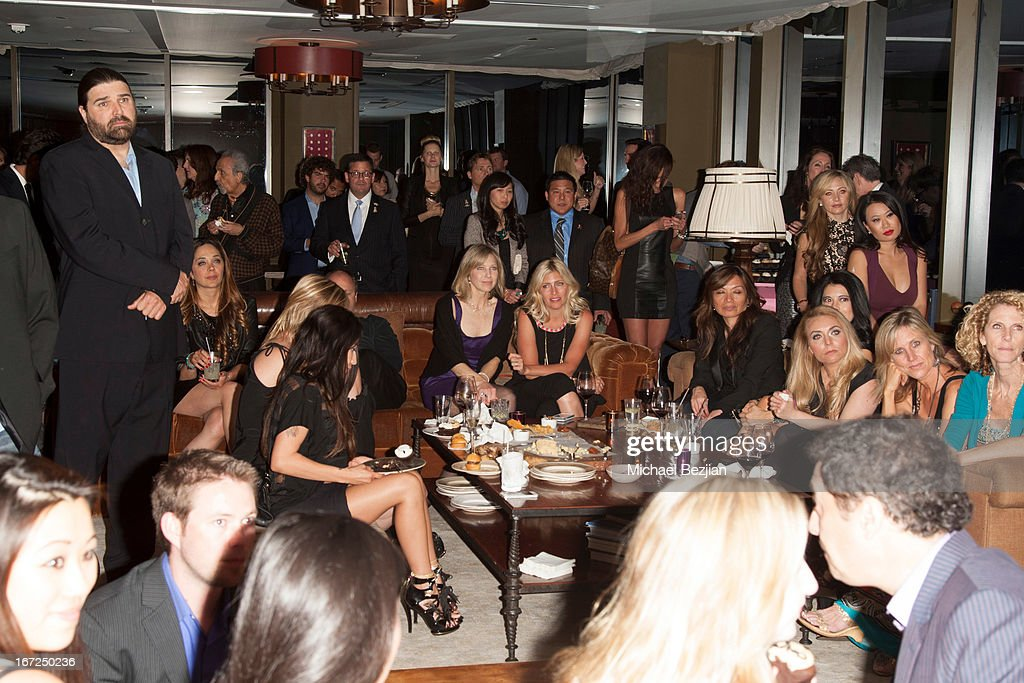 A general view at Mutt Match LA Fundraiser at Soho House on April 22, 2013 in West Hollywood, California.