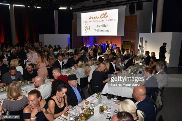 General view at Pre Golf Party during the 9th Golf Charity Cup hosted by the Christoph Metzelder Foundation at the Jochen Schweizer Arena on May 20...