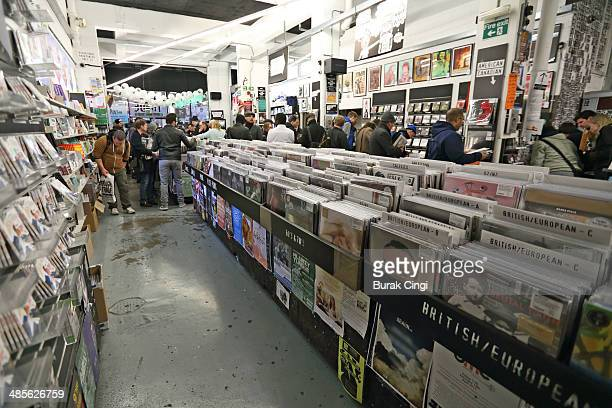 General view at Rough Trade East on April 19 2014 in London United Kingdom