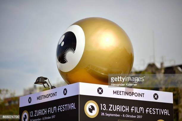 A general view at Sechselaeutenplatz next to the festival centre ahead during the 13th Zurich Film Festival on September 28 2017 in Zurich...