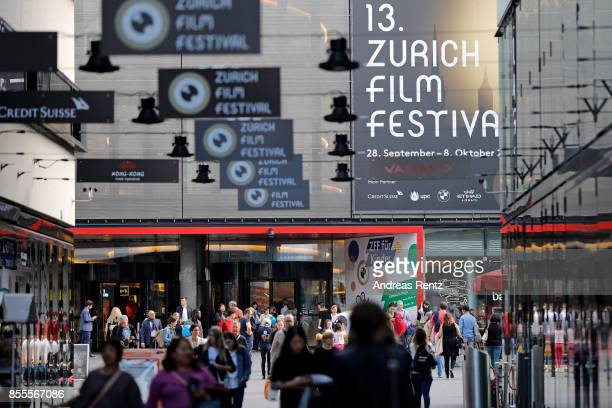 A general view at Sihlcity during the 13th Zurich Film Festival on September 29 2017 in Zurich Switzerland The Zurich Film Festival 2017 will take...