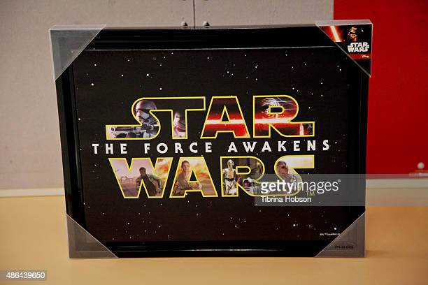 A general view at Target's 'Shop The Force' event to promote Lucasfilm's 'Star Wars Episode VII The Force Awakens' at Target on September 4 2015 in...