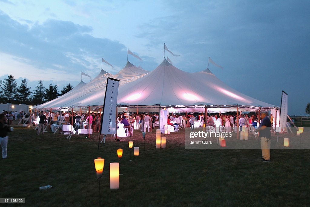 General view at the 2nd Annual St. Barth Hamptons Gala hosted by Social Life Magazine on July 20, 2013 in Bridgehampton, New York.