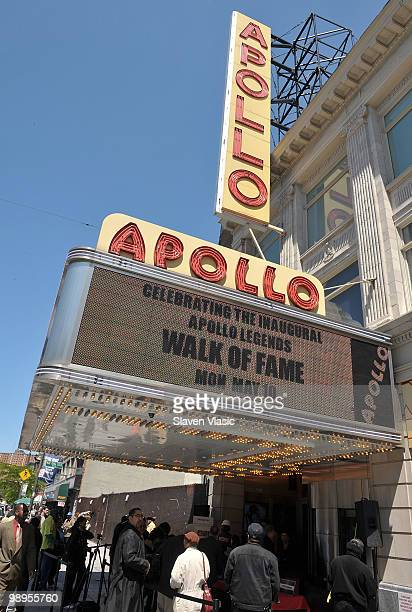 General view at the Apollo Legends Walk of Fame unveiling at The Apollo Theater on May 10 2010 in New York City