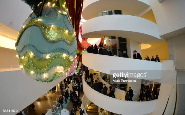A general view at the ARoS Art Museum at SportAccord Convention Closing Event during the fifth day of SportAccord Convention 2017 at the Scandinavian...