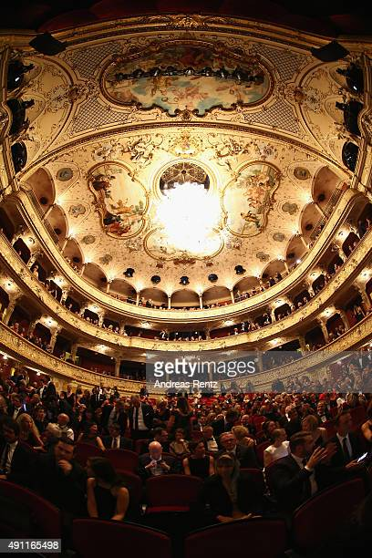 A general view at the Award Night during the Zurich Film Festival on October 3 2015 in Zurich Switzerland