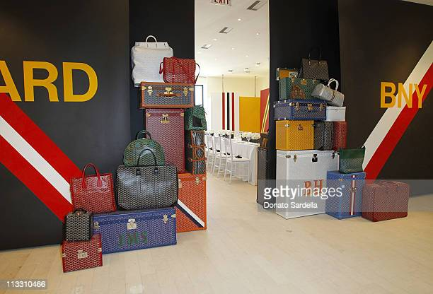 A general view at the Barneys New York And Vogue Lunch To Celebrate Goyard Hosted By Amanda Brooks And Lawren Howell at Barneys New York Beverly...