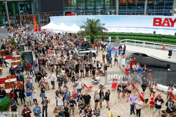 General view at the 'Baywatch' Photo Call in Berlin on May 30 2017 in Berlin Germany