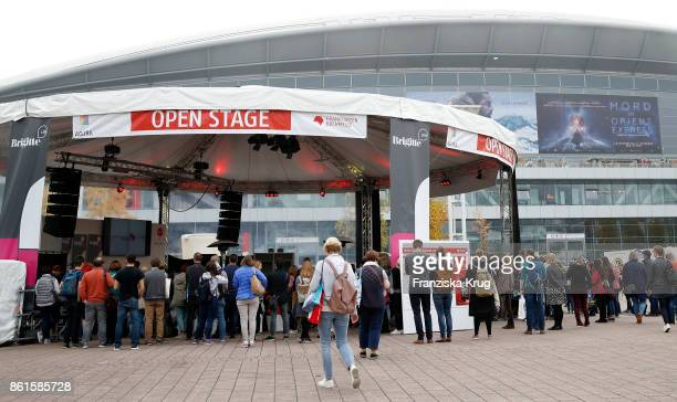 General view at the BRIGITTE LIVE at the Frankfurt Book Fair on October 15 2017 in Frankfurt am Main Germany The 2017 fair which is among the world's...