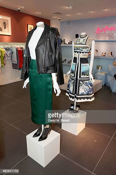 A general view at the British Designer's Collective at Bicester Village on May 21 2014 in Bicester England