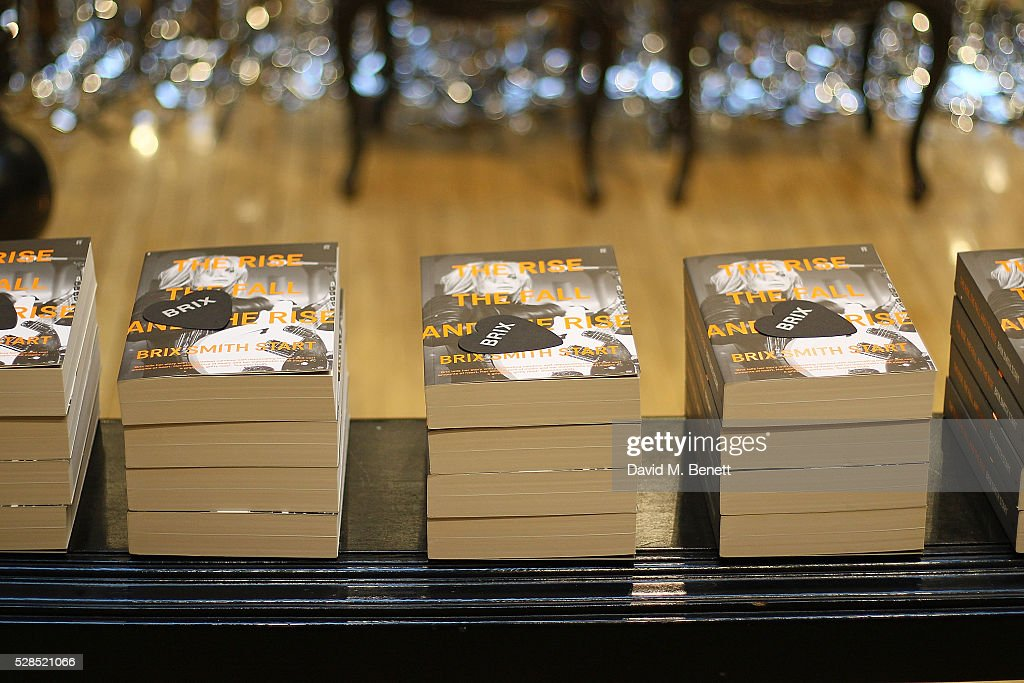 A general view at the Brix Smith Start Autobiography Launch at Liberty London on May 5, 2016 in London, England.