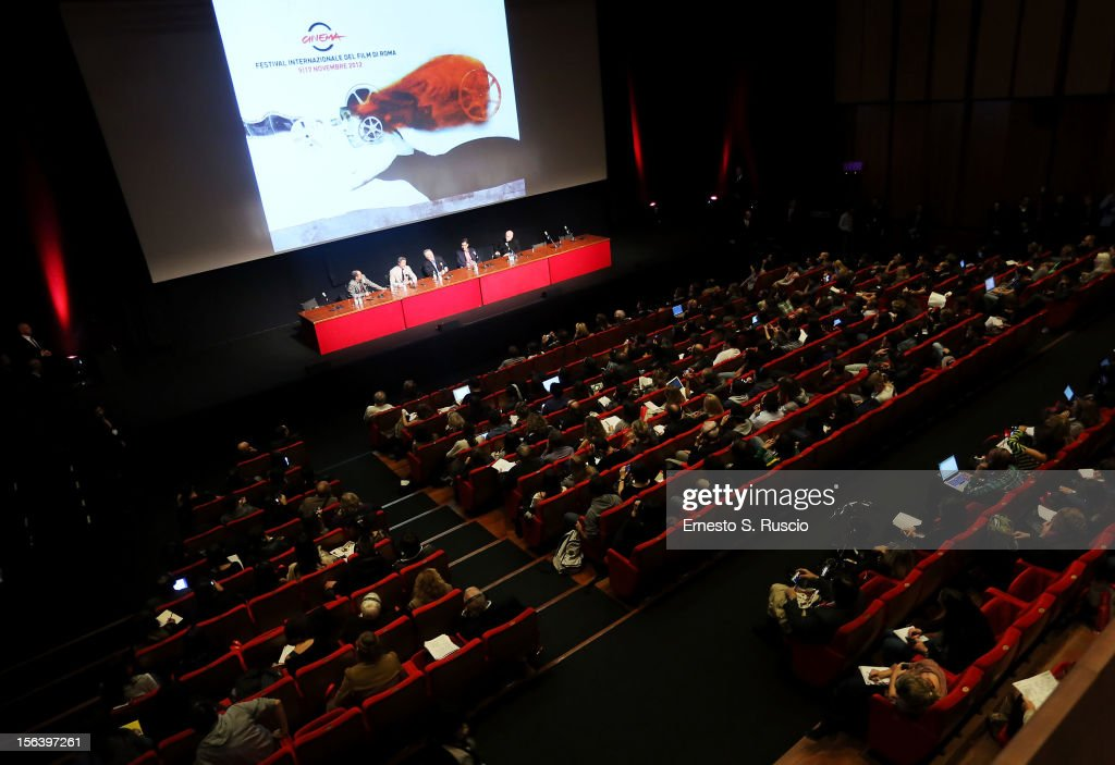 A general view at the 'Bullet To The Head' Press Conference during the 7th Rome Film Festival at the Auditorium Parco Della Musica on November 14, 2012 in Rome, Italy.