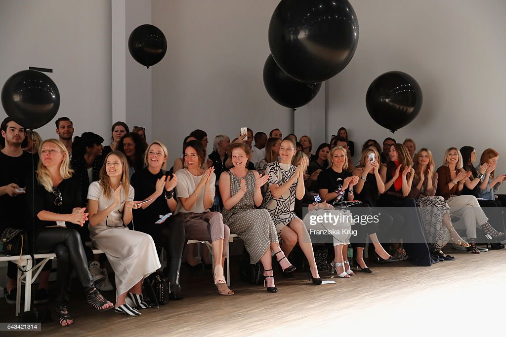 A general view at the Dawid Tomaszewski show during the Mercedes-Benz Fashion Week Berlin Spring/Summer 2017 at Stage at me Collectors Room on June 28, 2016 in Berlin, Germany.