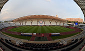 A general view at the end of the Italy training session at Gradski stadion u Poljudu on June 11 2015 in Split Croatia