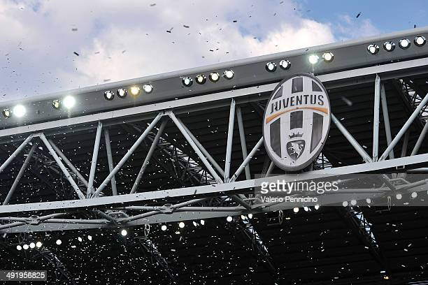 A general view at the end of the Serie A match between Juventus and Cagliari Calcio at Juventus Arena on May 18 2014 in Turin Italy