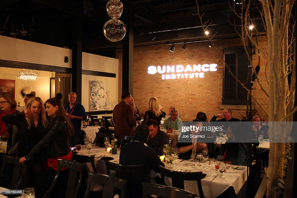 A general view at the Facebook & Sundance Institute Dinner at Riverhorse Cafe during the 2013 Sundance Film Festival on January 19, 2013 in Park City, Utah.