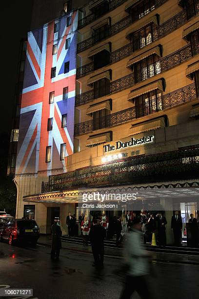 A general view at the Fashion for the Brave event at the Dorchester on October 26 2010 in London England