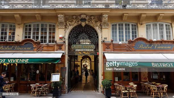 A general view at the 'Galerie Vivienne' on March 22 2017 in Paris France