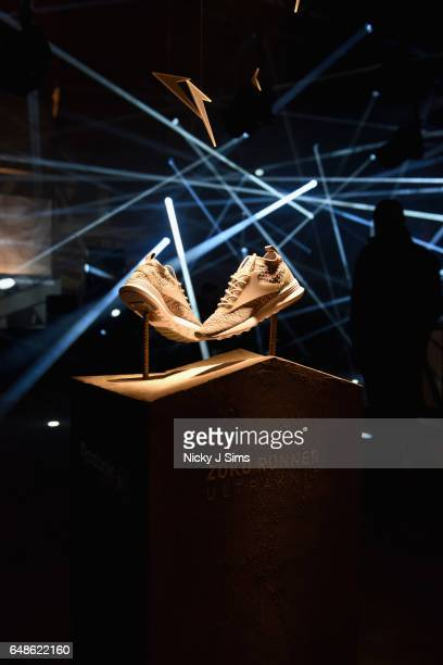 A general view at the global launch of Reebok Classics new Zoku Runner at Village Underground on March 2 2017 in London England