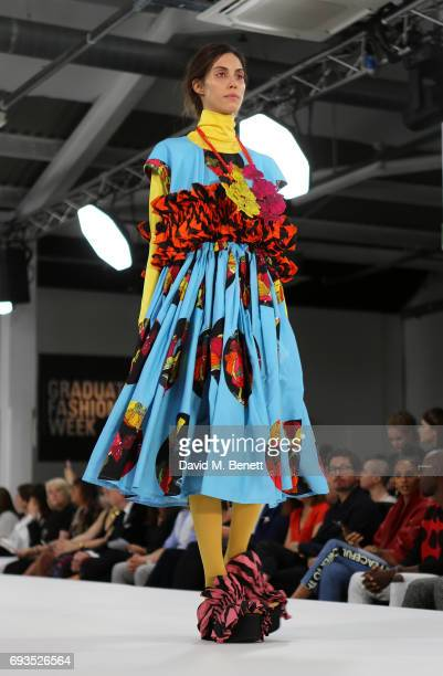 A general view at the Graduate Fashion Week Gala 2017 at The Old Truman Brewery on June 7 2017 in London England