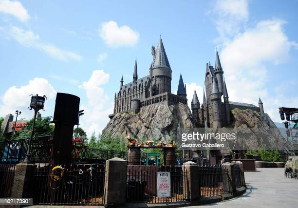 General view at the Grand Opening of The Wizarding World of Harry Potter at Universal Orlando on June 17 2010 in Orlando Florida