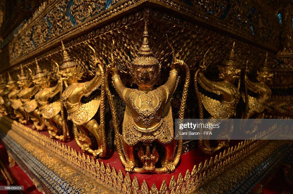 A general view at the Grand Palace on November 15 2012 in Bangkok Thailand