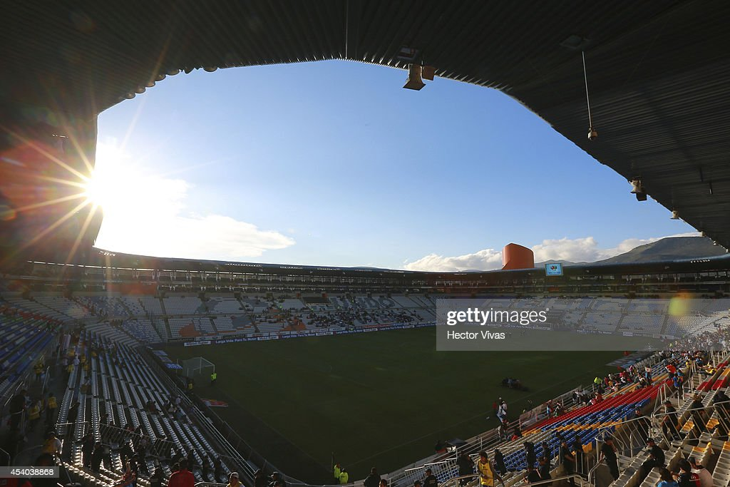 General view at the inside of Hidalgo stadium previous a match between Pachuca and Atlas as part of 6th round Apertura 2014 Liga MX at Hidalgo...