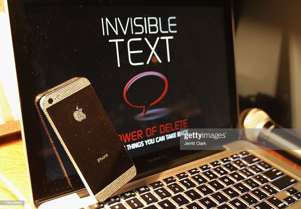 General view at the Invisible Text Mobile App Preview at the Soho House on August 14, 2013 in New York City.