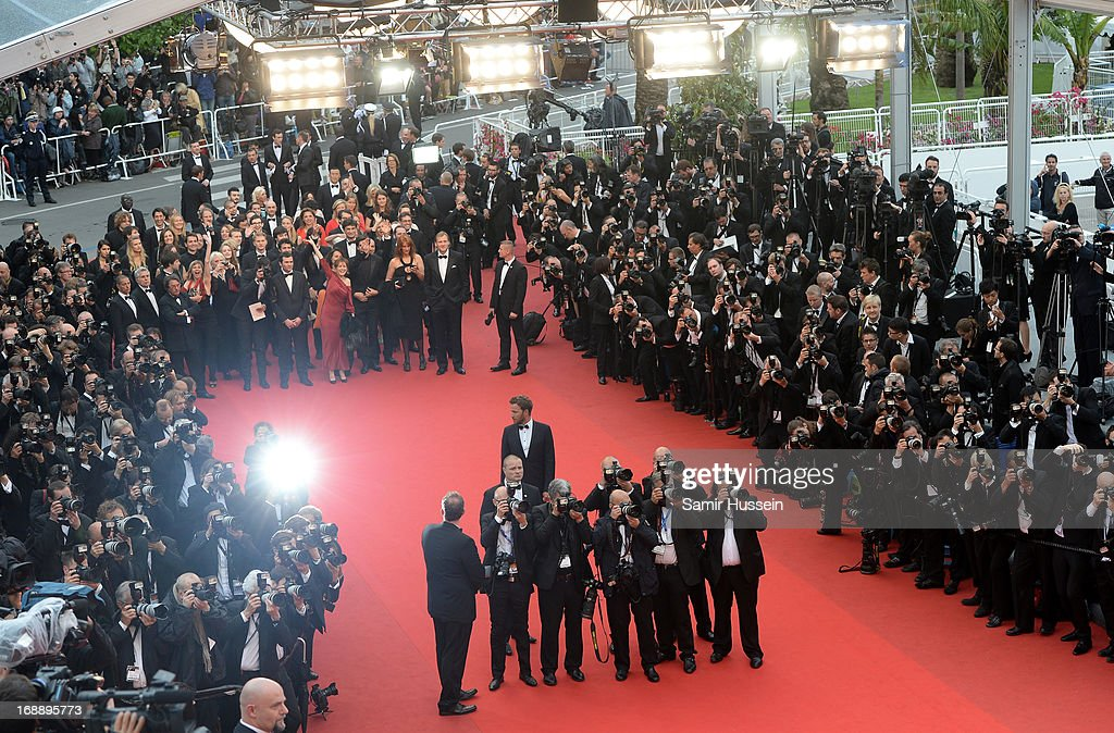 A general view at the 'Jeune & Jolie' premiere during The 66th Annual Cannes Film Festival at the Palais des Festivals on May 16, 2013 in Cannes, France.