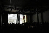 A general view at the Lala Berlin presentation during the MercedesBenz Fashion Week Berlin Autumn/Winter 2016 at Stage at me Collectors Room on...