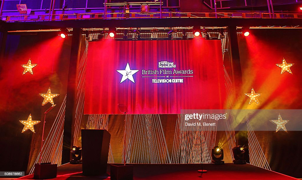 A general view at the London Evening Standard British Film Awards at Television Centre on February 7, 2016 in London, England.
