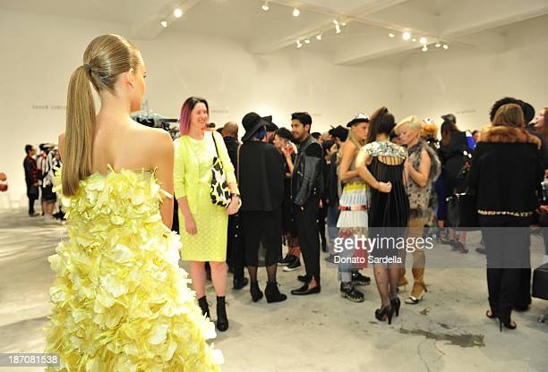 A general view at the LONDON show ROOMS LA Opening SS14 on November 5 2013 in Los Angeles California