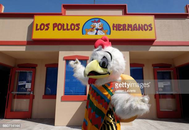 A general view at the Los Pollos Hermanos popup on March 30 2017 in Los Angeles California