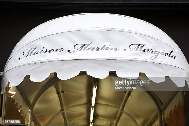 A general view at the 'Maison Martin Margiela' store on October 7 2014 in Paris France