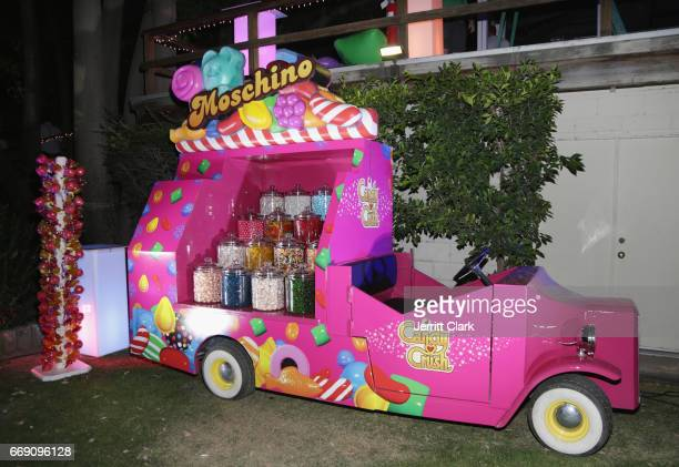 General view at the Moschino Candy Crush Desert Party hosted by Jeremy Scott on April 15 2017 in Coachella California