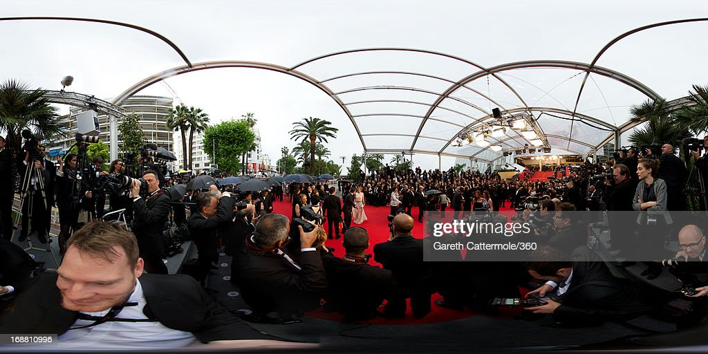 A general view at the Opening Ceremony and 'The Great Gatsby' Premiere during the 66th Annual Cannes Film Festival at the Theatre Lumiere on May 15, 2013 in Cannes, France.