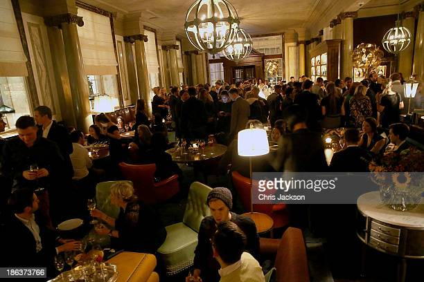 A general view at the opening of Rosewood London on October 30 2013 in London England